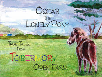 "The Front Cover of ""Oscar The Lonely Pony"""