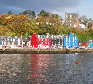 Tobermory's painted houses