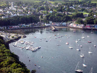 Aerial photo of Tobermory
